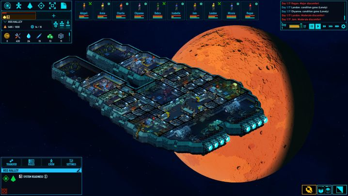 """""""Space Haven"""" ist noch im Early Access, der Raumschiffbau samt Weltraumodyssee kommt beim Steam-Publikum aber hervorragend an"""