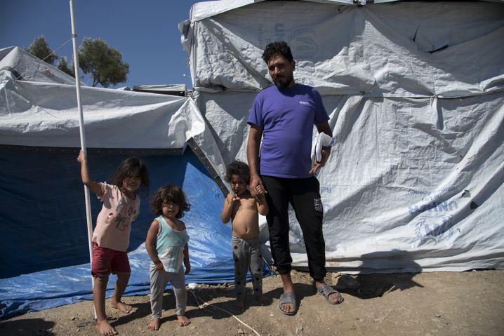 Ahmet Mohamed mit seinen Kindern