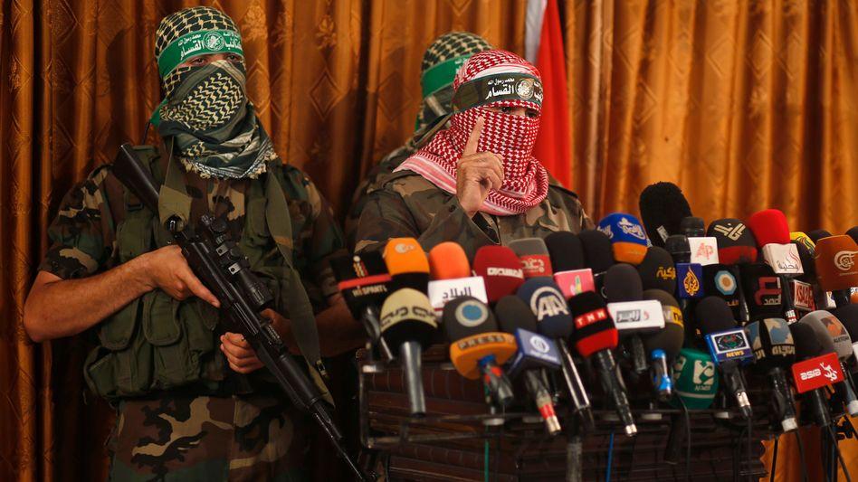 """Sprecher des militärischen Arms der Hamas: """"Nicht nur Städte, sondern neue Ziele"""""""