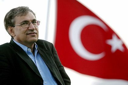 """Novelist Orhan Pamuk: """"I will have trouble coping if the Turkish team loses."""""""