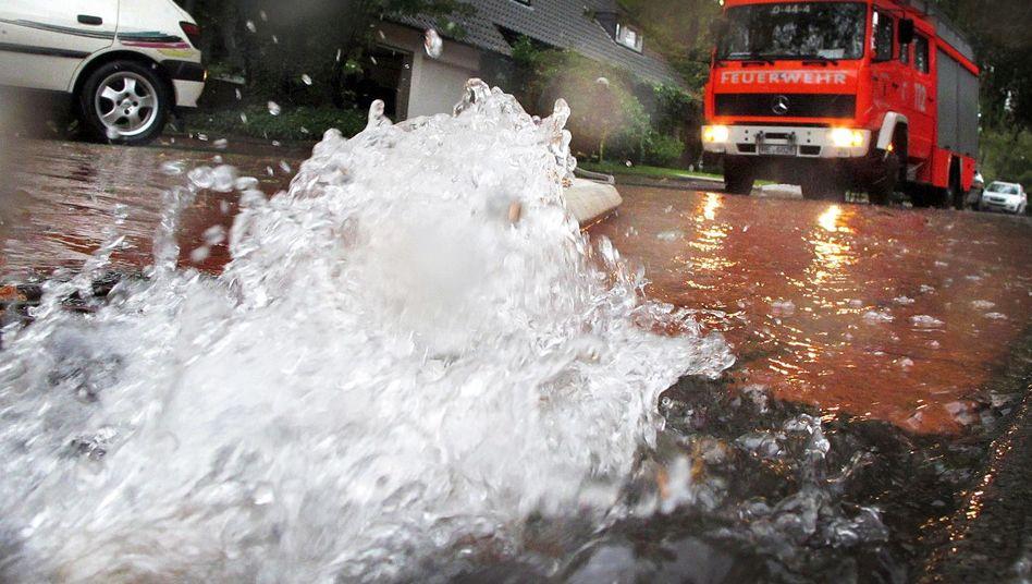 Einsatz nach starken Regenfällen in Recklinghausen: Herausforderung für Kommunen