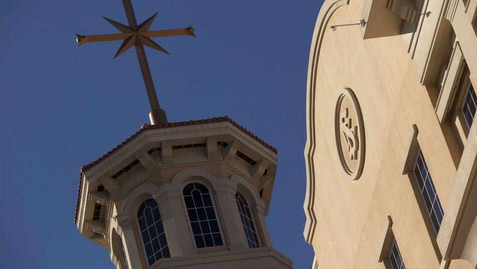 Scientology-Hauptquartier in Clearwater im US-Bundesstaat Florida