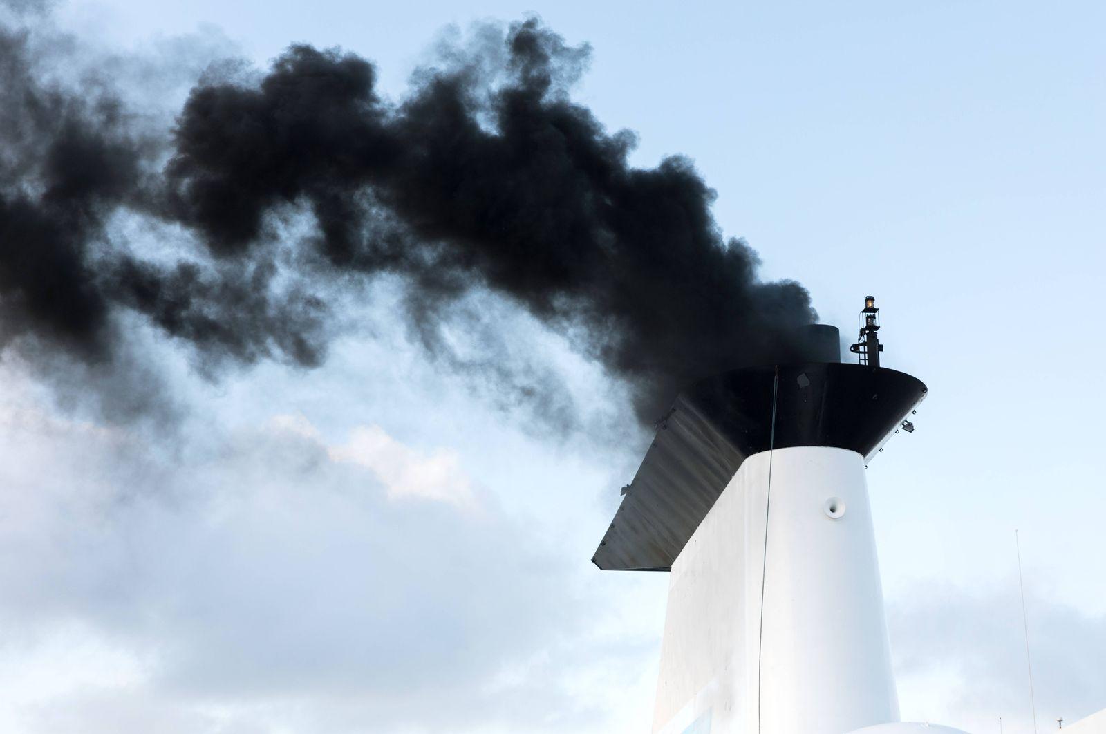 EINMALIGE VERWENDUNG Schiff/ CO2