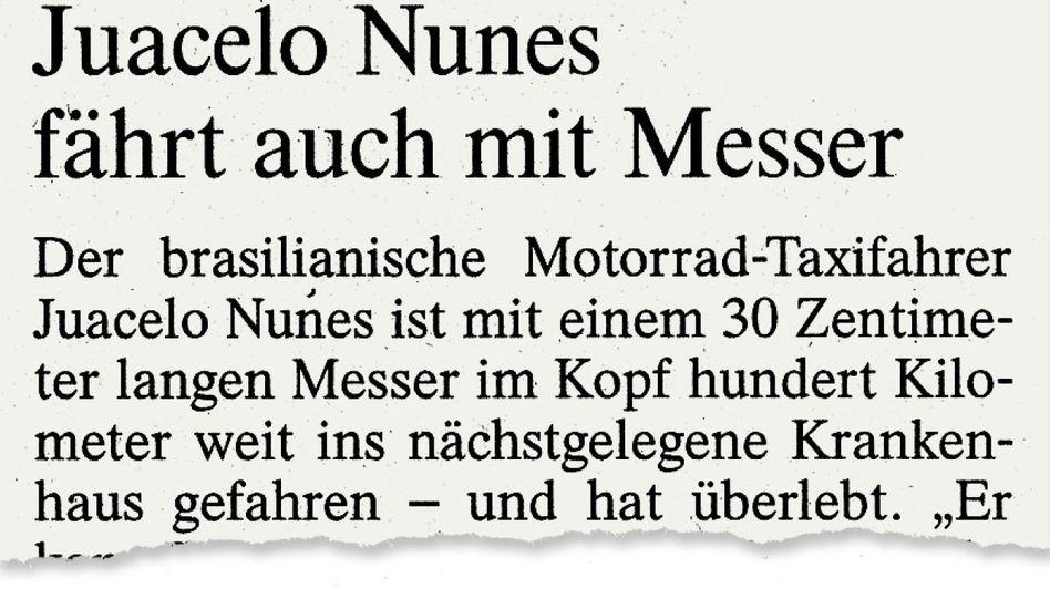 Aus der »Frankfurter Allgemeinen«