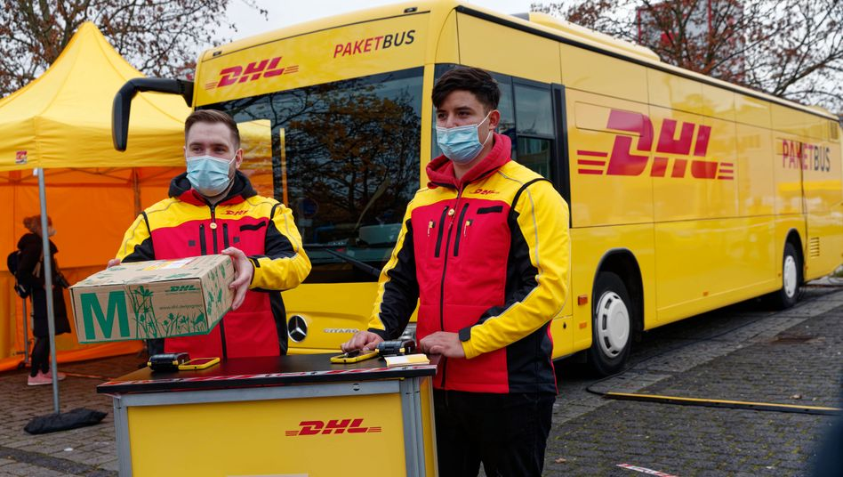 Paketbus von DHL
