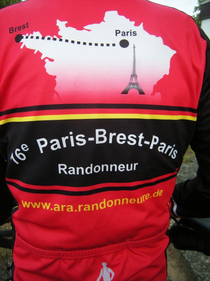 Strecke Paris-Brest-Paris: 600 Kilometer hin, 600 Kilometer zurück
