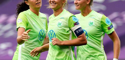 Pernille Harder trifft vierfach - VfL Wolfsburg im Halbfinale der Champions League