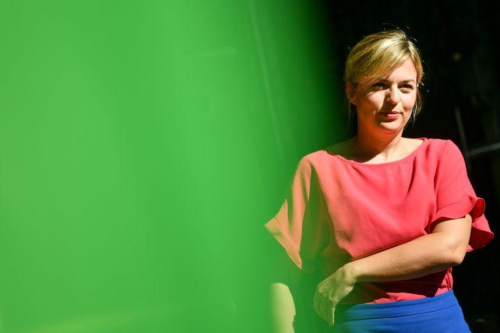 Grünen-Spitzenkandidatin Katharina Schulze