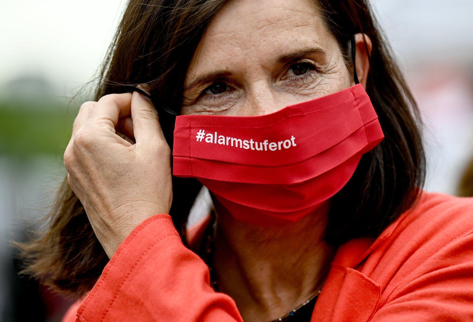 Demonstration #AlarmstufeRot