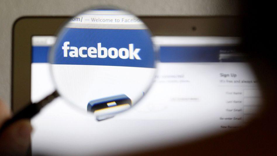 """Facebook-Webseite: Neun Millionen Menschen klickten auf """"Ich habe gewählt"""""""