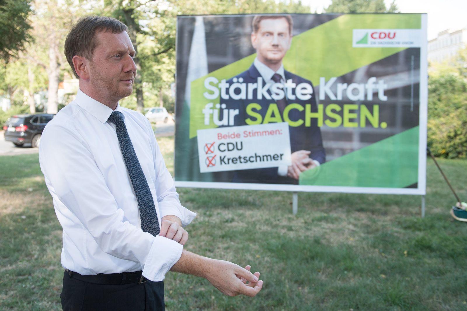 Wahlkampf CDU Sachsen