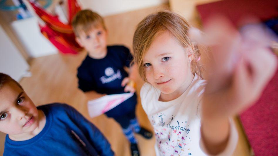 Kinder in der Kita Sankt Elisabeth in Essen: Ost-West-Gefälle