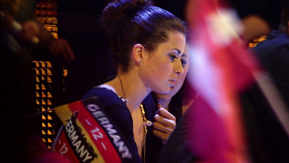 Enttäuscht: Ann Sophie sang für Deutschland und erhielt null Punkte
