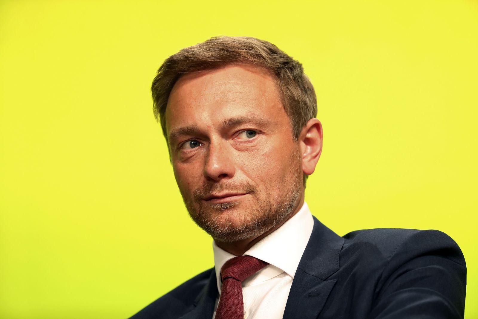 NRW Wahl / Christian Lindner