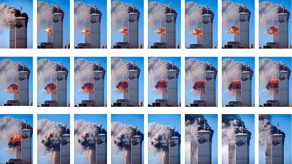 Teuflischer Plan: Fotos dokumentieren den Ablauf des Anschlags auf die beiden Türme des World Trade Center