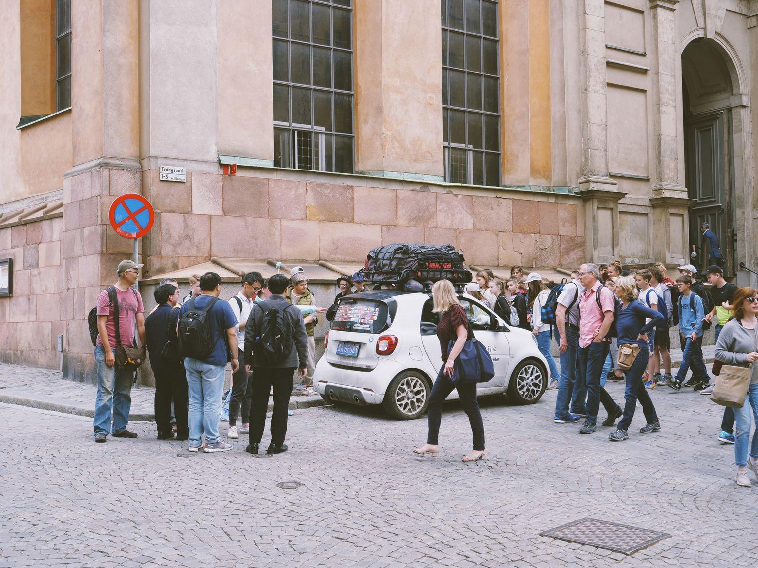 LVDOI K/ühler W/ärmer Autotasse Smart Reisebecher Tragbare Auto-K/ühl und Heiz Becherhalter Elektrische Getr/änkedosen Passend f/ür Reisender im Freien