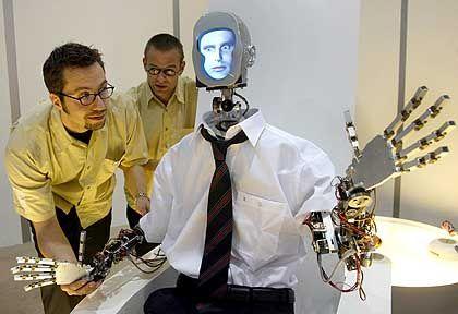"""""""Nach seinem Bilde..."""": Traum von der Maschine, die kann, was Menschen können"""