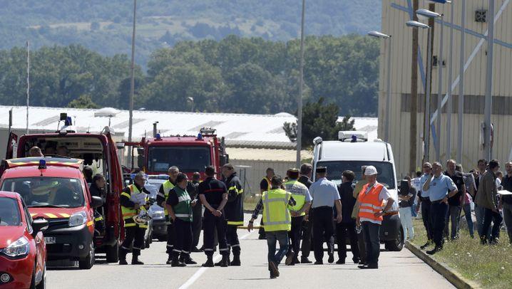 Mann enthauptet: Anschlag erschüttert Frankreich