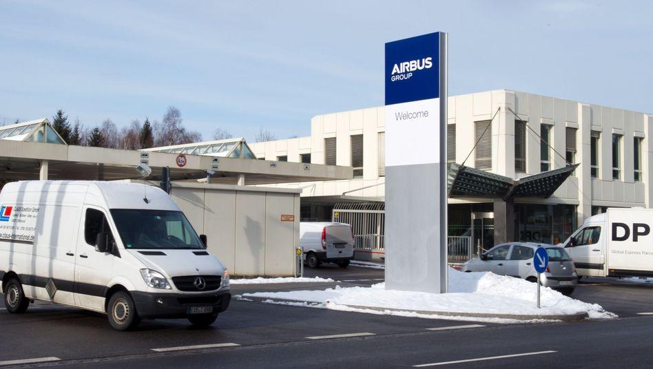 Airbus-Gebäude in Ottobrunn: Korruptionsverdacht bei Rüstungsgeschäft
