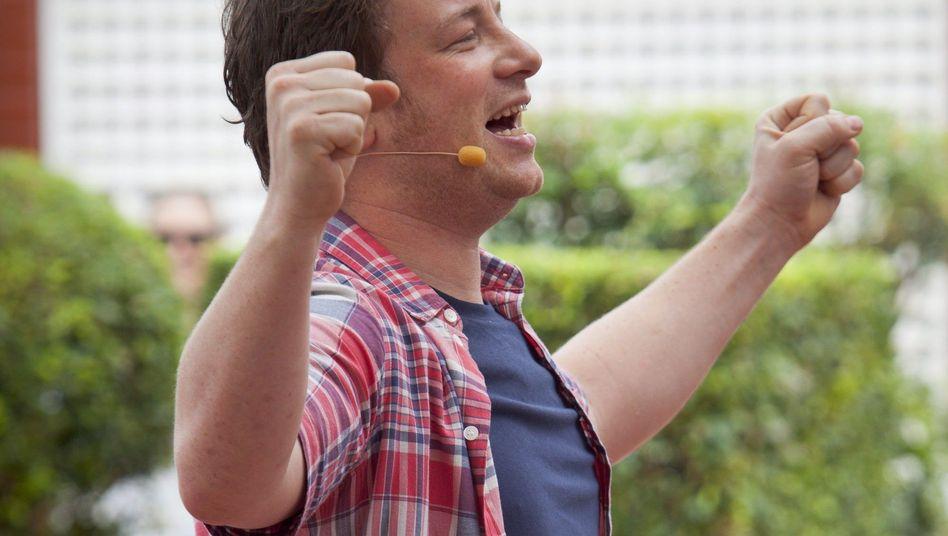 Mein Eintopf kann alles: Starkoch Jamie Oliver (hier im März 2012)