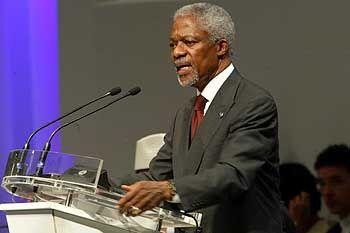 Kofi Annan: Weckrufe, doch die Industrienationen schlafen fest