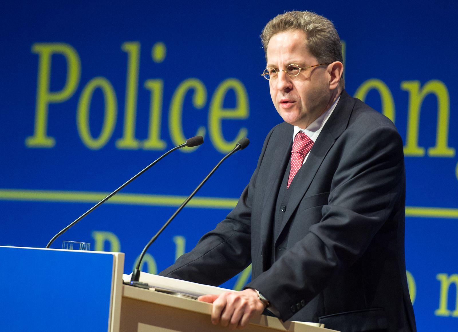 Hans-Georg Maaßen/ Polizeikongress in Berlin