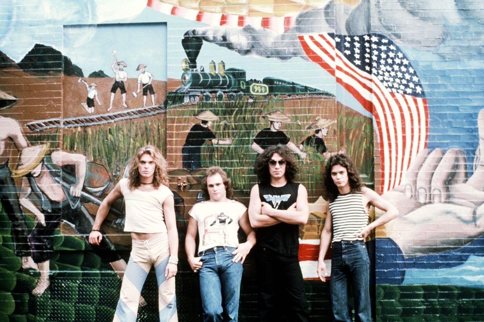 Van Halen Group Shot