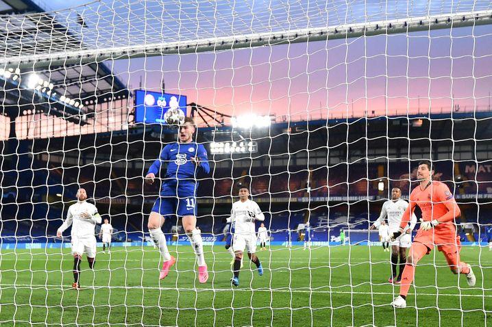 Timo Werner trifft zur Führung für Chelsea
