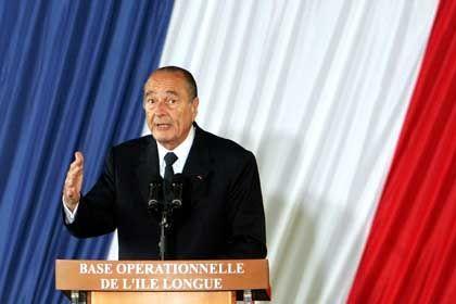 """Chirac: """"Flexibler"""" Einsatz von Atomwaffen"""