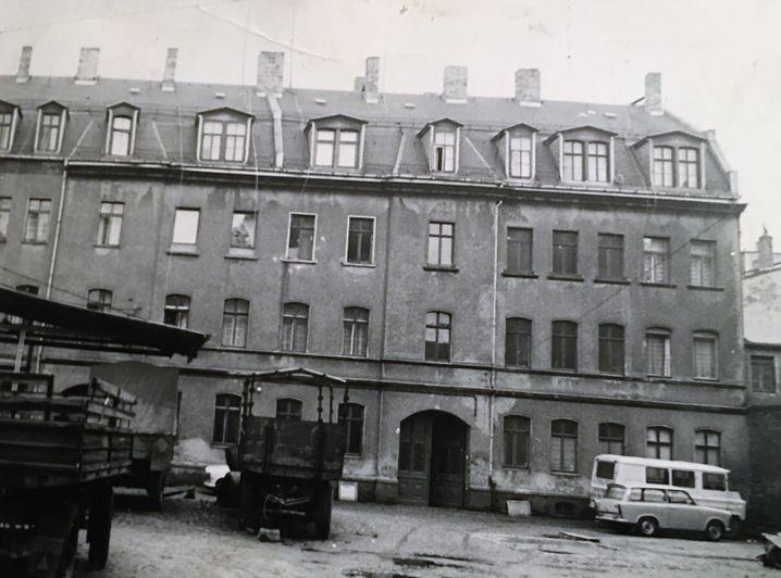 Leipziger Wohnhaus in der Zweinaundorfer Straße