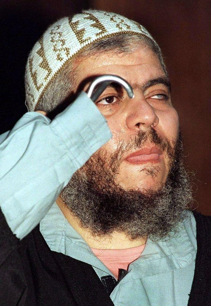 Prediger Abu Hamza (Archivfoto von 1999)