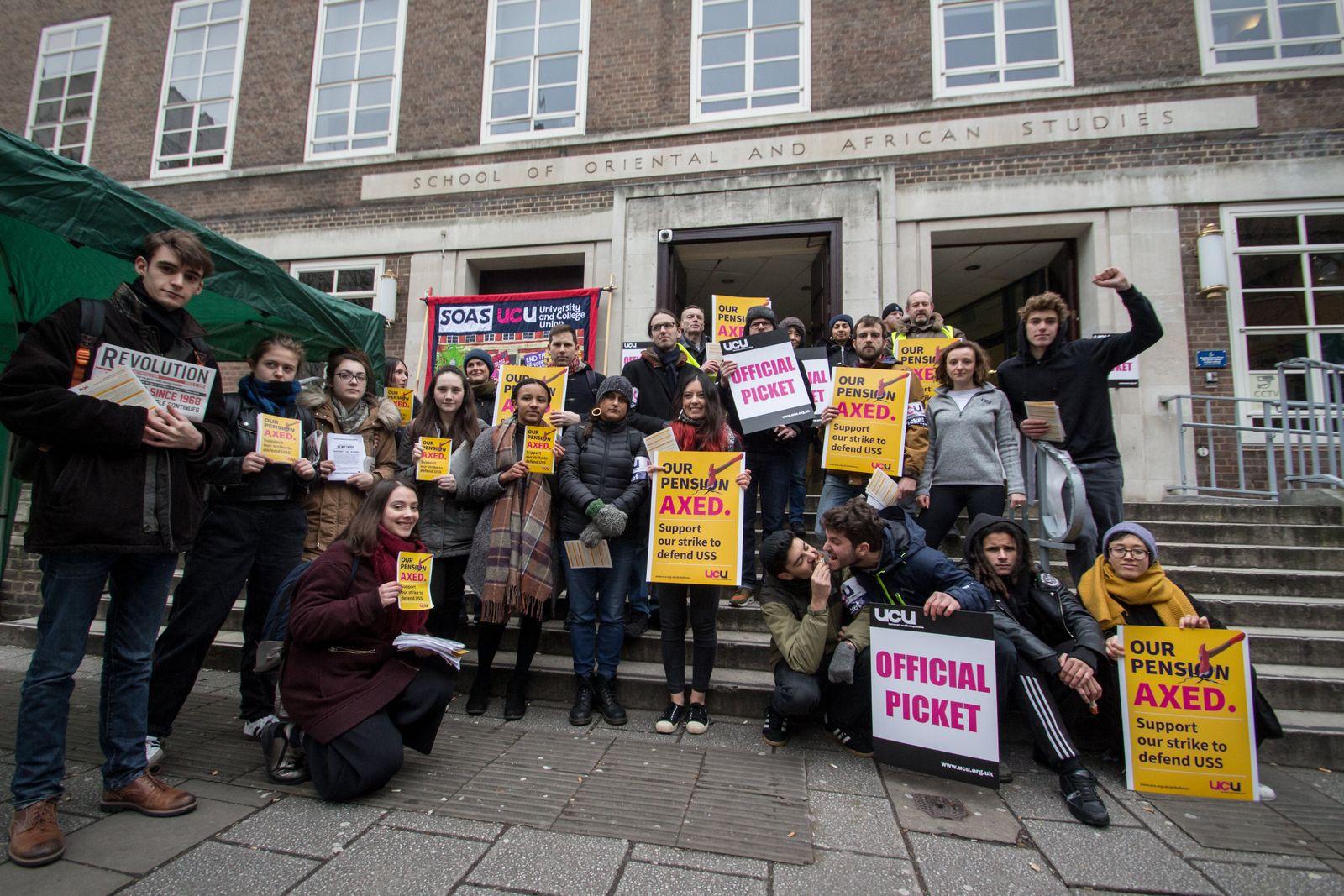 Universitätsstreik London