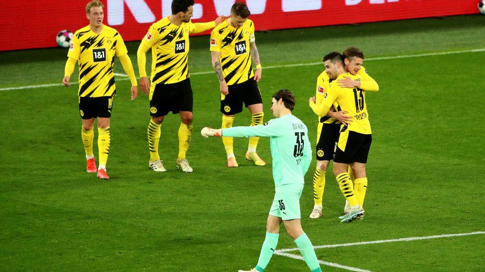 Borussia Dortmund braucht einen starken Saisonschlusssport, um das Saisonziel noch zu erreichen