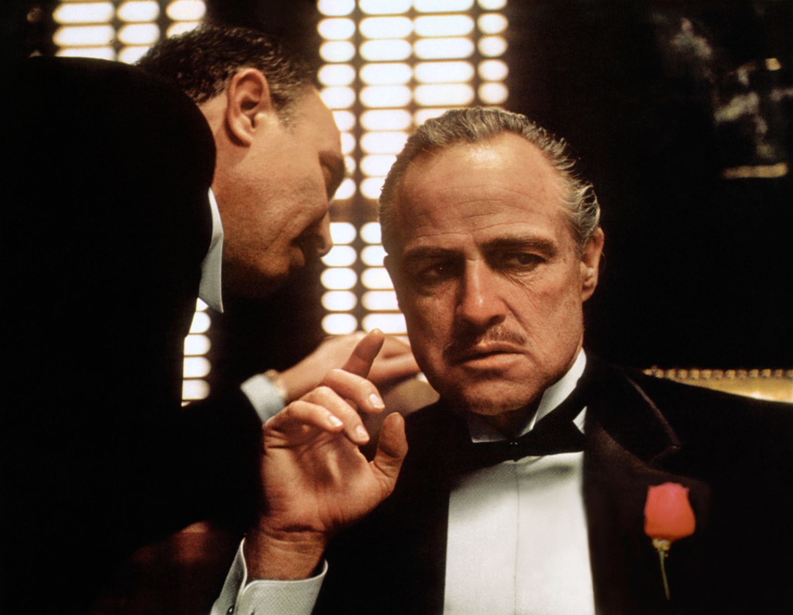 Marlon Brando Characters: Don Vito Corleone Film: The Godfather (USA 1972) / Literaturverfilmung (Based On The Book By M