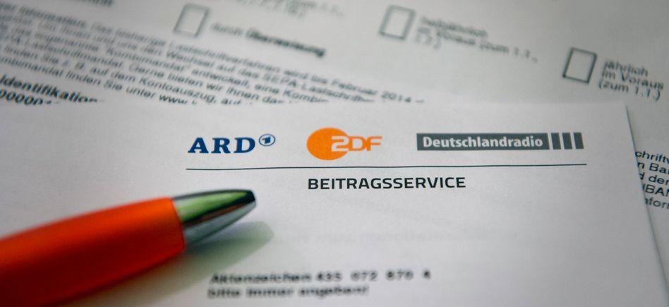 Schreiben des Beitragsservice der Öffentlich-Rechtlichen: 8,76 Euro im Jahr weniger