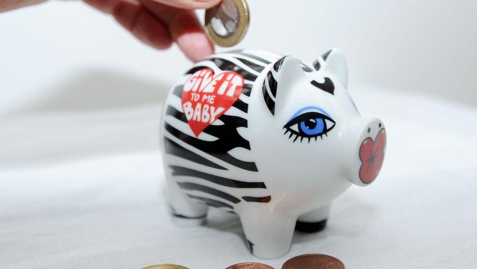 Sparen: Viele Kinder und Jugendlichen legen Geld zurück