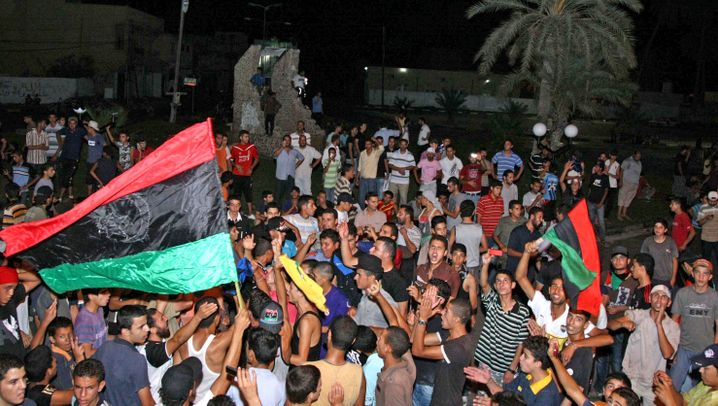 Photo Gallery: Libya Celebrates but Fighting Continues