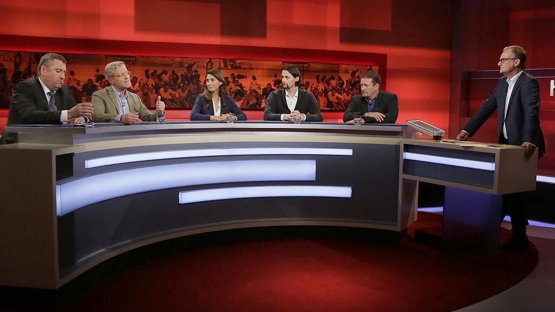 EINMALIGE VERWENDUNG TV/ Hart aber fair