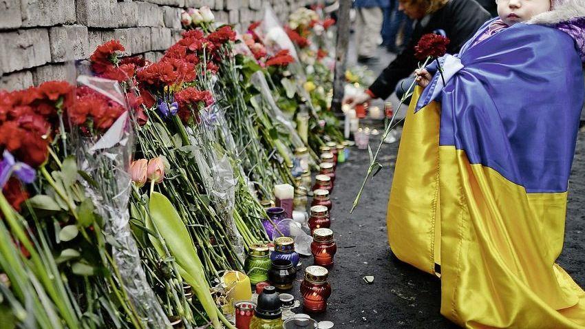 Gedenkstelle für die Toten vom Maidan: »Janukowitsch befahl den Abbruch der Aktion«