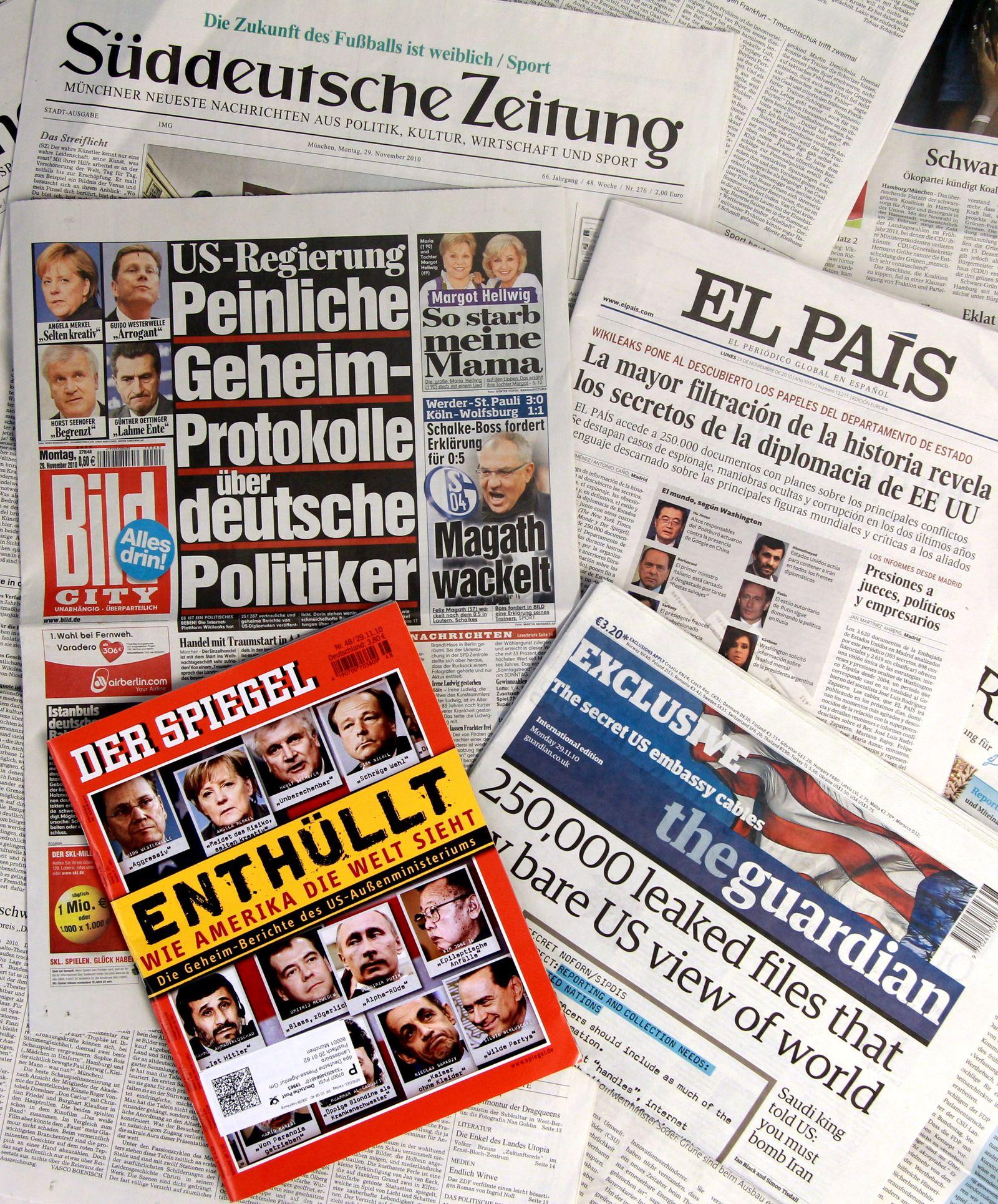 Wikileaks - Medienecho