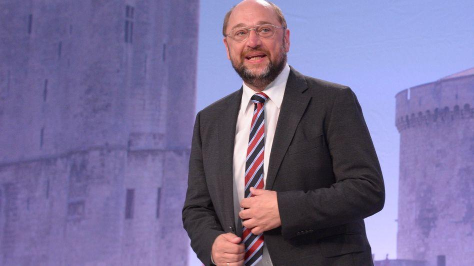 EU-Politiker Schulz: Früher Bürgermeister von Würselen, jetzt Parlamentspräsident