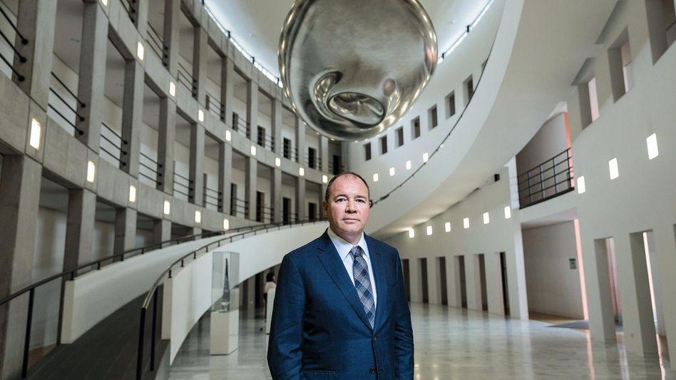 Unternehmer Dommermuth in der United-Internet-Zentrale in Montabaur: »Die Dramatik wird immer noch unterschätzt«