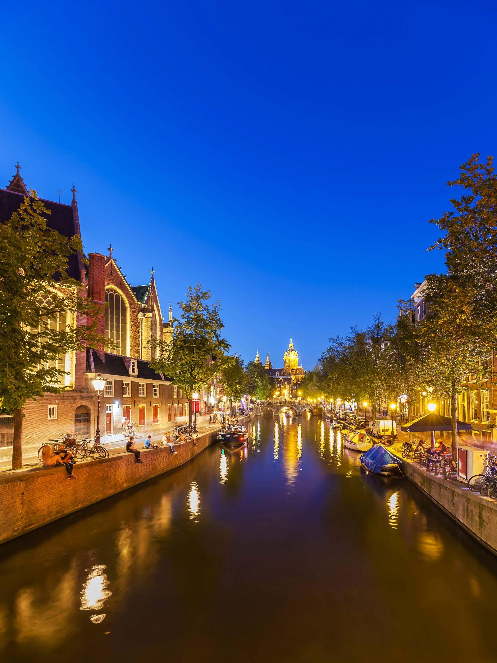 EINMALIGE VERWENDUNG Amsterdam Tourismus