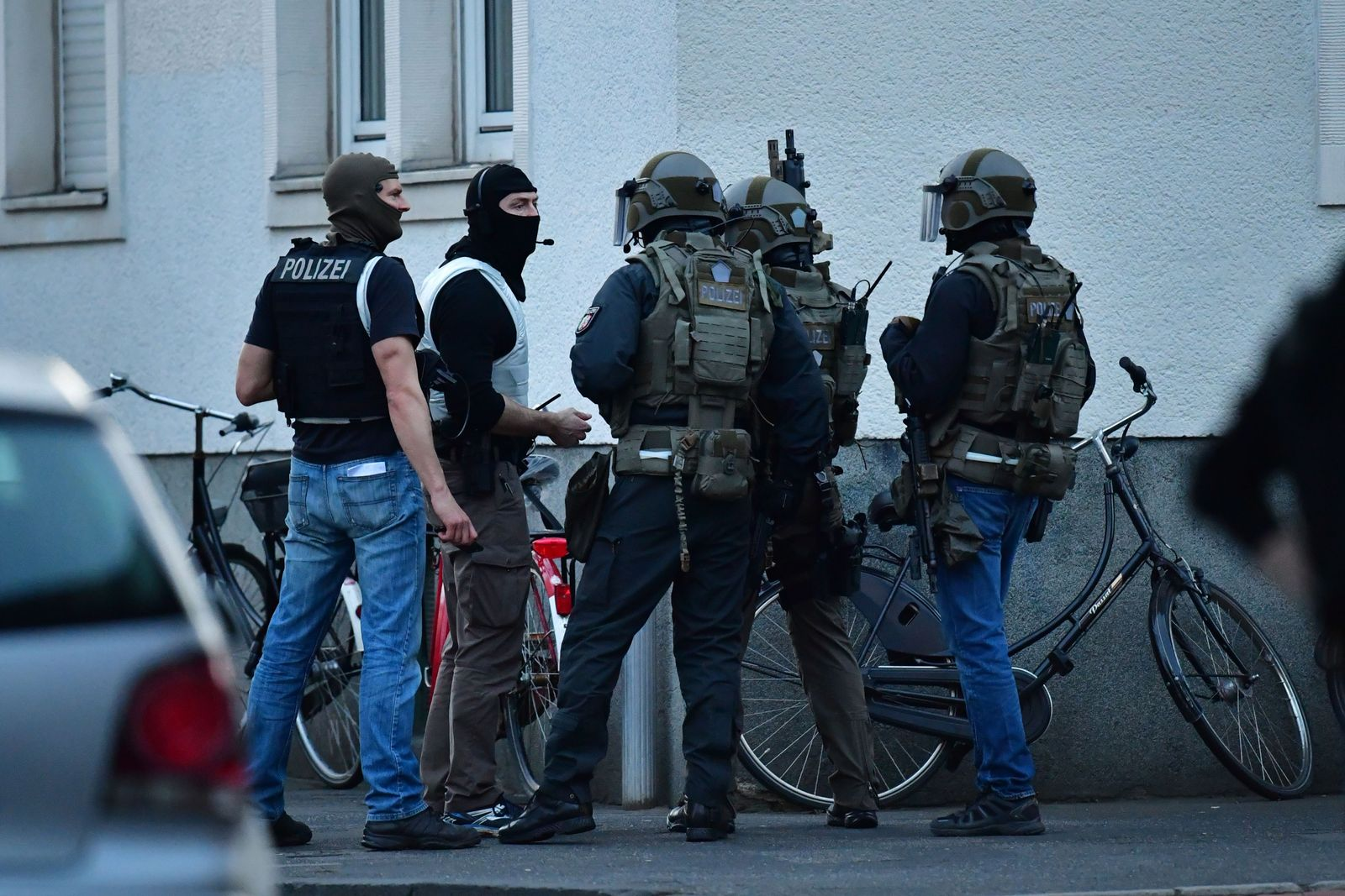Münster / Haus / Verdächtiger