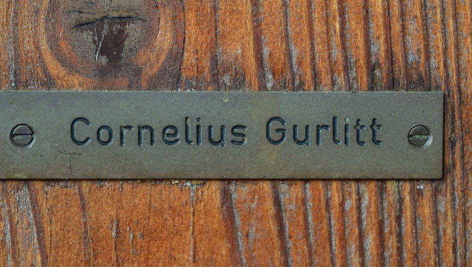 """Haustür von Cornelius Gurlitt (Archiv): """"Paranoide Wahnideen""""?"""