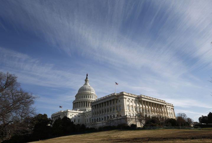 Demokraten entmachtet: US-Kapitol in Washington