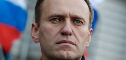 Alexej Nawalny reagiert auf Ansprache