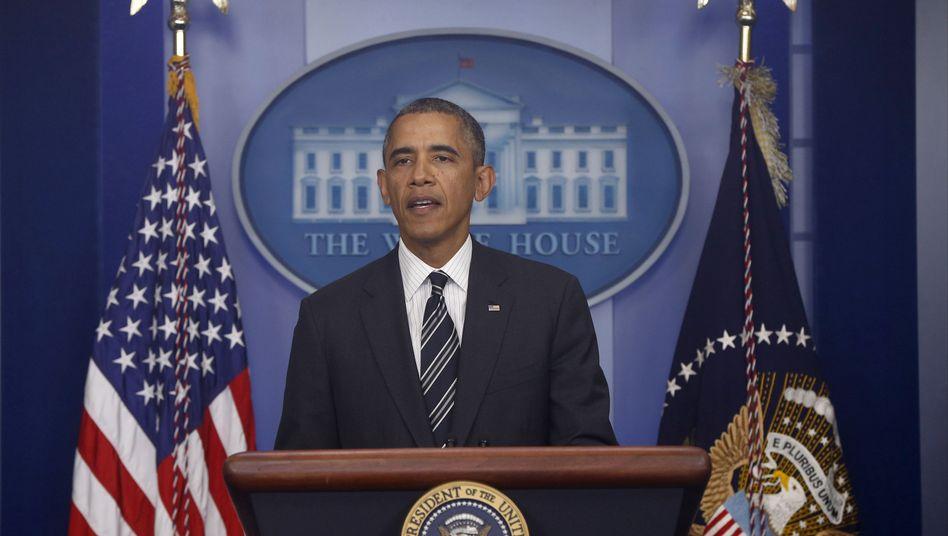 """US-Präsident Obama: """"Umfassende"""" Lösung im Atomstreit"""