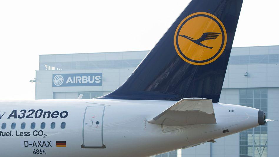 Ein Airbus A320neo der Lufthansa (Archivbild)