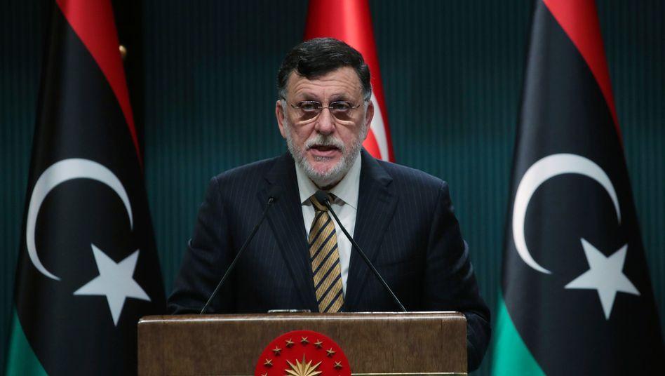 """Fajes al-Sarradsch (im August in Ankara): """"Ein guter Vorläufer für mehr Konsens und Einigung"""""""